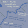 Flyer with Landing on the Right Acre event details.